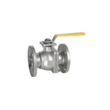 2 PC Flanged Ball Valve
