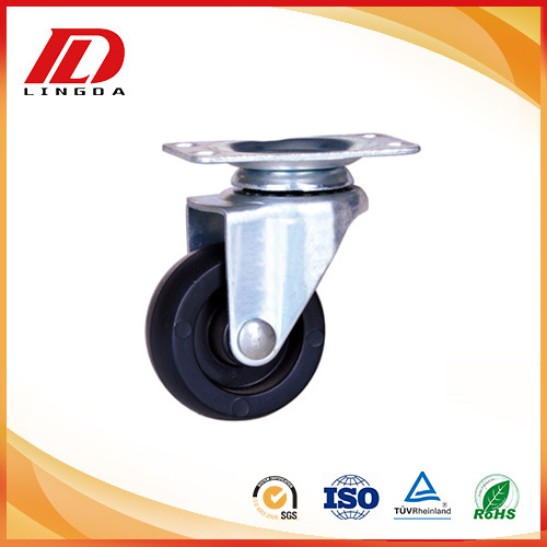 50mm Plate casters plastic wheels