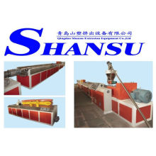 PVC Wood Plastic Extrusion Line/ Extrusion Machine