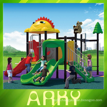 Cartooning animal world children outdoor playground equipment