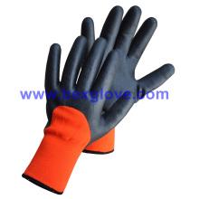 Термальный вкладыш, перчатки с покрытием из нитрила