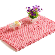 Customized Anti-Slip Bathroom Chenille Carpet Mat