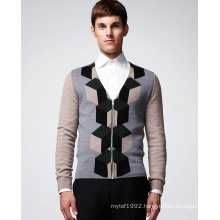 ODM Patterned Knitted Sweater Cardigan