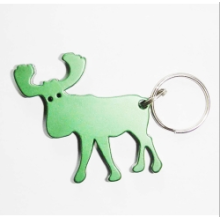 High Quality Aluminium Moose Shape Beer Bottle Opener