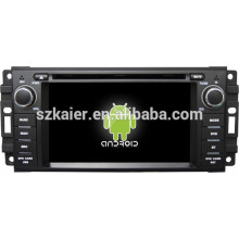 Android 4.4 Mirror-link TPMS DVR 1080P dual core car navigation system for Jeep/Chrysler/Dodge with GPS/Bluetooth/TV/3G