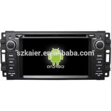 Зеркало-ссылка на Android 4.4 ТМЗ видеорегистратор 1080p двухъядерный автомобильный DVD для джип/Крайслер/Додж с GPS/Bluetooth/ТВ/3Г