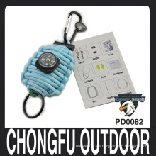 550 paracord survival grenade fob kit