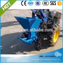 2016 best price walking tractor potato planter with fertilizer