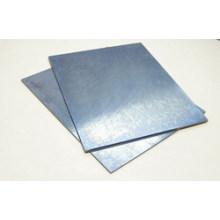 Feuille de tungstène pure pour bouclier de chaleur / Plaque de tungstène à haute pureté pour four à vide
