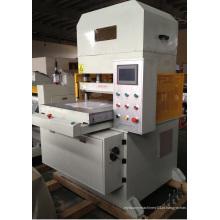 Máquina de cortar trocas de operação de tela de toque