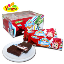 Popular Sweet Chocolate Coated Rectangle Marshmallow Supplier