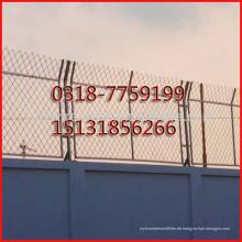 geschweißter Stacheldrahtzaun, Antiaufstiegsrasiermesser schweißte Zaun Konzertina-Stacheldrahtzaun
