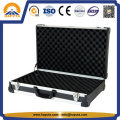 Black Aluminum Rifle Carry Pistol Gun Case (HG-1602)