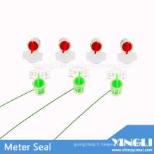 Sceau de plastique de compteur de sécurité (YL-M01)