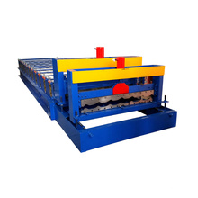 Polonia tipo proveedor de oro venta caliente hidráulico azulejo esmaltado camerún zinc techo hojas corrugating machine