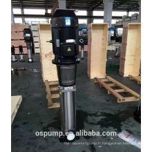 Pompe de surpression verticale à plusieurs étages à haute pression