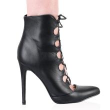 hot selling sex models cross strap sandals