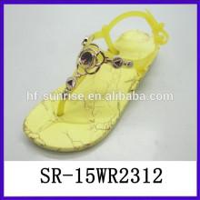 Art und Weiseinjektionssandelholz-Melissa-Gelee beschuht Dameart und weiseschuhgelee-Schuhgroßverkauf