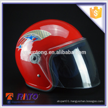 Superior China red motorcycle full-face helmet factory price