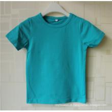 Cantão atacadista bem-vindo oem serviço menina camiseta design de impressão Custom Made novo design crianças meninas camiseta