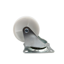2 inch light duty flat plate side of the brake PP casters