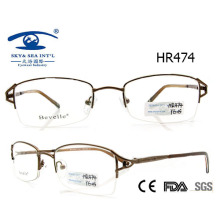 Новейший стиль Half Metal Glasses Frame (HR474)