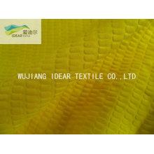 CVC Seersucker 65 % Baumwolle 35 % Polyester-Gewebe für Vorhang