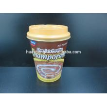 Tasse de papier jetable de café du meilleur mur 400ml de double de vente de norme de FDA