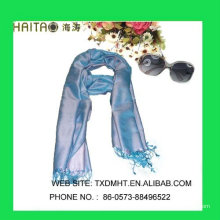 Châle en soie solide en soie - châle en soie - 100% foulards en soie