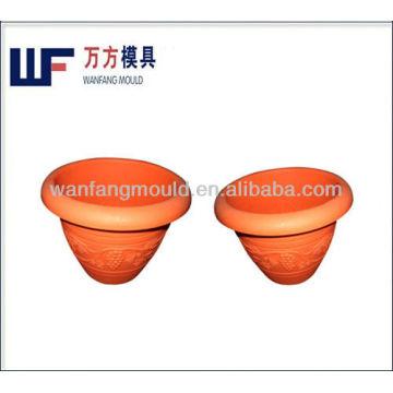 custom low cost plastic flower pot injection moulds