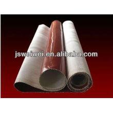 Силиконовым покрытием ткани высокой температуры Силиконовой резины с покрытием стеклоткань ткани