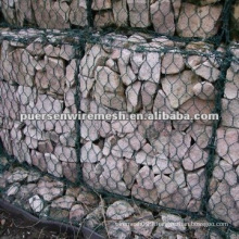 Hexagonal atone Gabion box