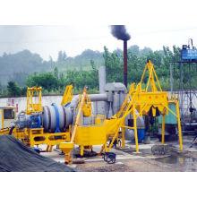 Instalação de lotes de asfalto móvel Qlby-80 / 80tph