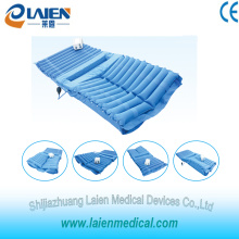 Pressure relieving air mattress with Urinal pad area and turn over function