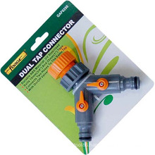 Garden Hose Fittings Dual ABS Water Tap Adaptor Tap Connector