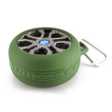 Altavoz Bluetooth al aire libre con forma de neumático (HQ-BTS605)