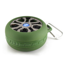 Outdoor Bluetooth Speaker with Tyre Shape (HQ-BTS605)