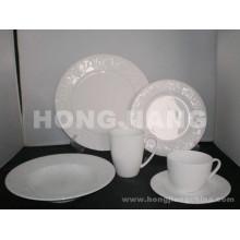 Костяного фарфора Набор посуды (HJ068012)