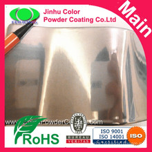 High quality chrome effect powder coating