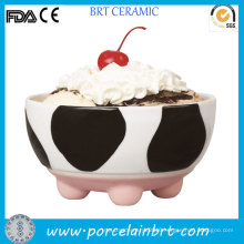 Funny Cow Design Small Ice Cream Bowl for Children