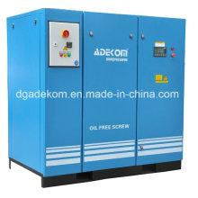 Compresor de aire sin tornillo del diente rotativo VSD sin aceite (KD55-13ET) (INV)