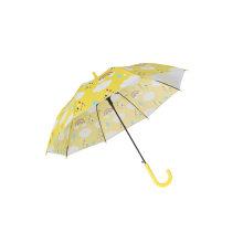 Children Cute Poe Umbrella with Cartoon Printing/Auto Open Kids Straight Umbrella for Gift