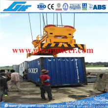 Épandeur à conteneur télescopique hydraulique 20FT 40FT
