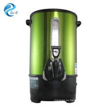 Dispensador de bebidas hervidor eléctrico de restaurante de acero inoxidable duradero 8L-35L de mejor venta, caldera de agua caliente comercial