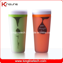 400ml Plastic Double Layer Cup Lid (KL-5005)