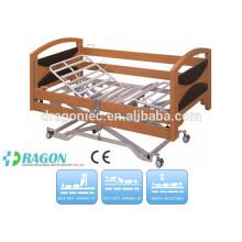 ДГ-BD142 электрический icu кровать ухода с тремя функциями для горячего сбывания больничной койке