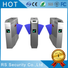 High Definition for Fare Collection Gate Access Control System Optical Turnstiles Wing Barrier export to Spain Importers