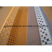 PVC Esquina Bead Bajo Ventana-Sill perfil con malla