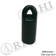 RHI 22 mm verde oscuro gancho perno tapas. cierres de pvc para tubos, protección de accesorios de tubería