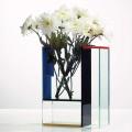 Personalizado de acrílico Vase Display titular